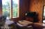 OPEN PLAN LIVING/DINING WITH ACCESS TO THREE SEASON PORCH