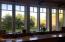 Cottage windows in kitchen