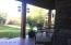 Mahogany front porch