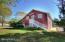 The Barn has 2 guest rooms, 1 BA, massage room and huge yoga/art studio/media room with cork floors.
