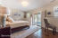 Lakeview Bedroom 4/First Level/Walkout to private patio &