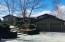 Springtime driveway view