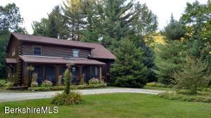 Beautifully maintained log home