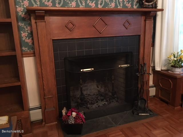 Dining room fireplace - Copy