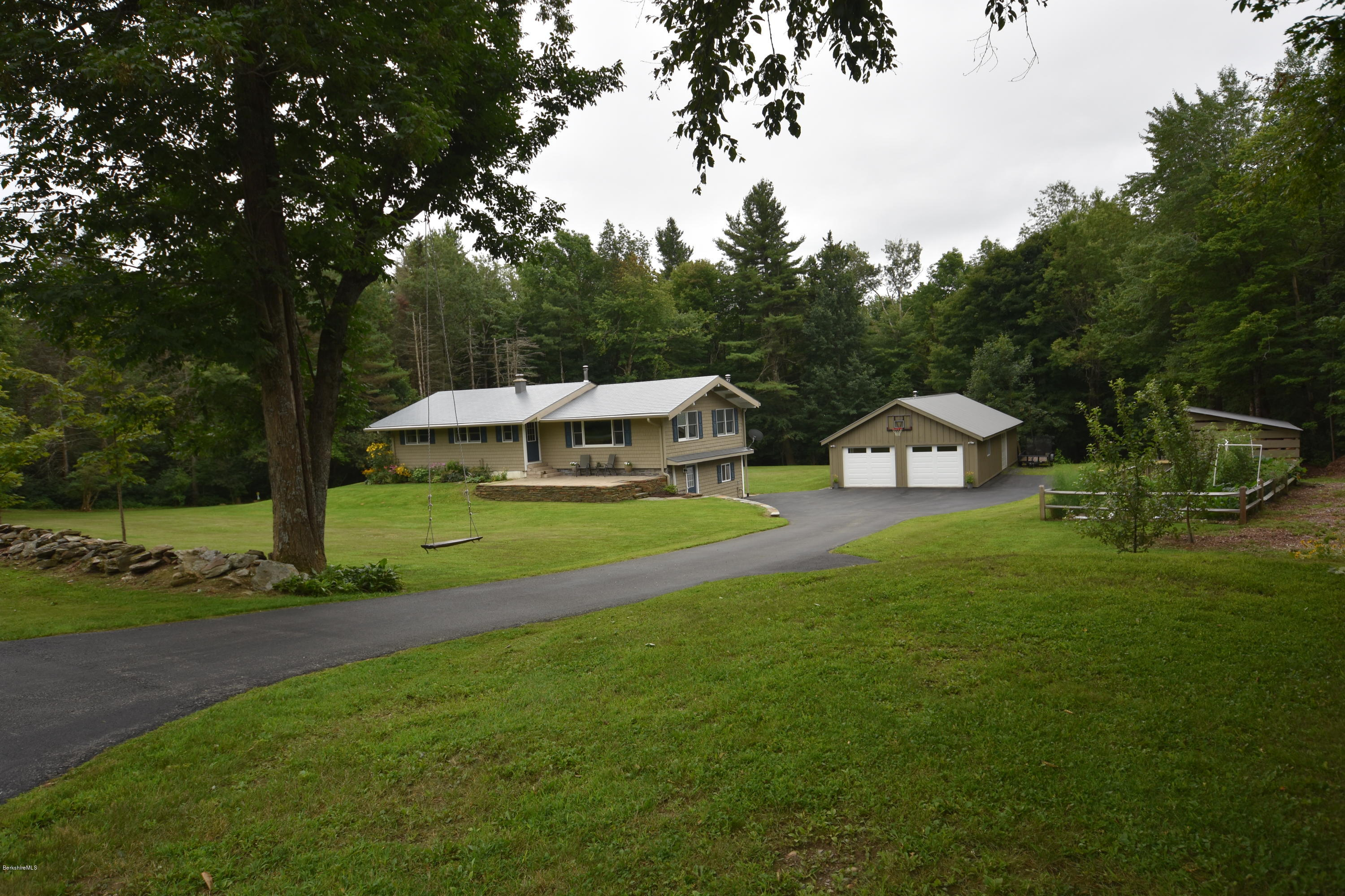687 Shaw Rd, Windsor, MA 01270 | Stone House Properties, LLC Ranch House Exterior Stone Amp Har Board Design on
