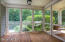 SHOWER SCREENED PORCH 20180528163643724245000000 THE SCREENED PORCH IS OFF THE OFFICE LIBRARY