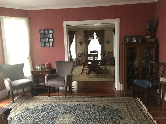 looking from den to diningroom