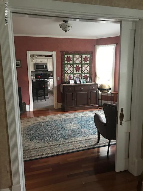 from dining room to den