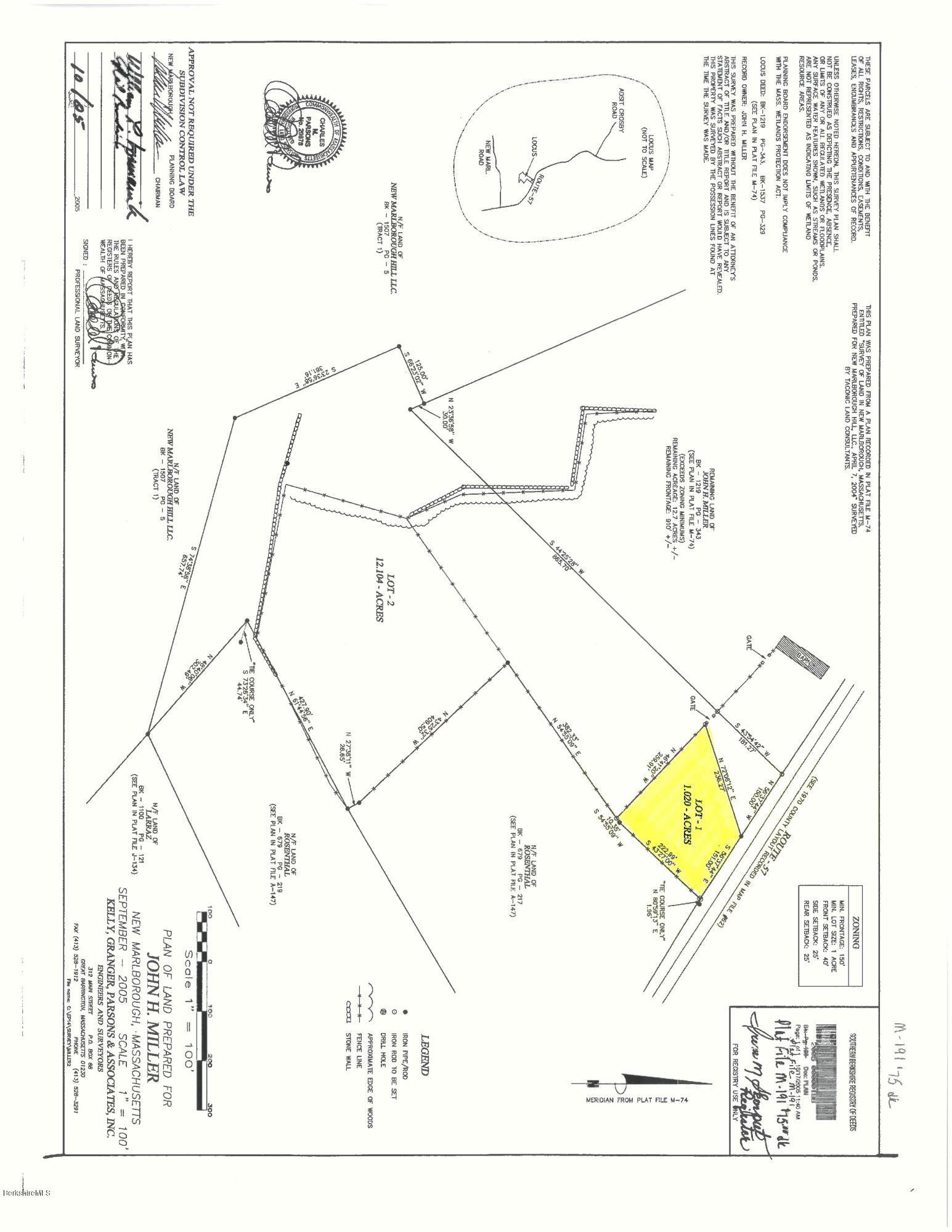 Route 57 New Marlborough MA 01259
