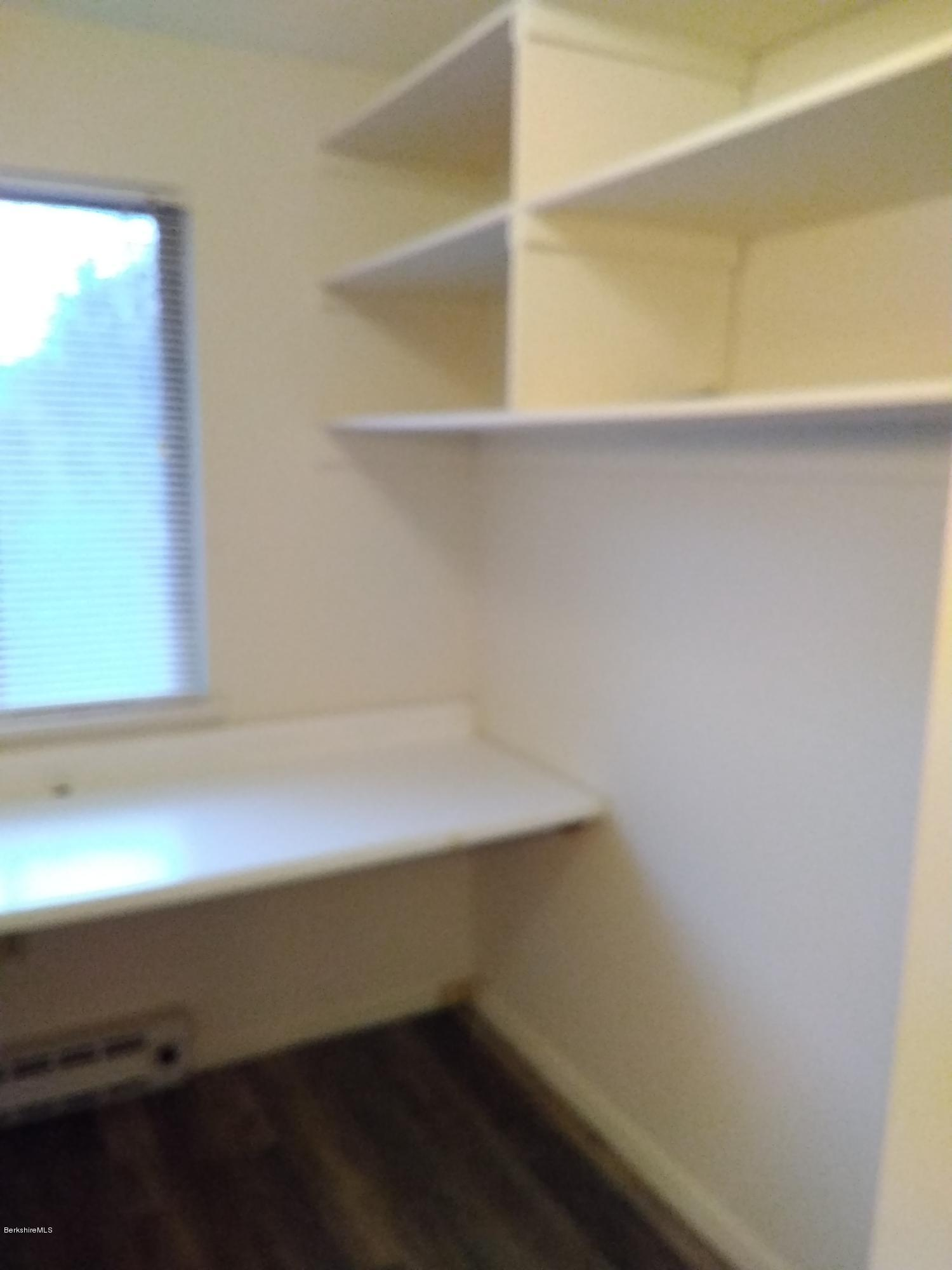 Maser bedroom closet and work table