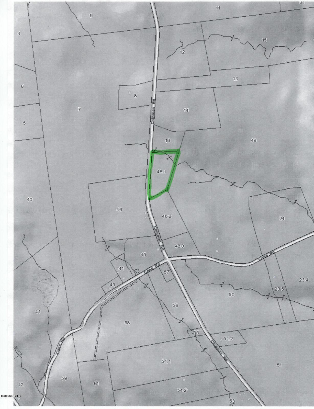 Chipman Rd Middlefield MA 01243