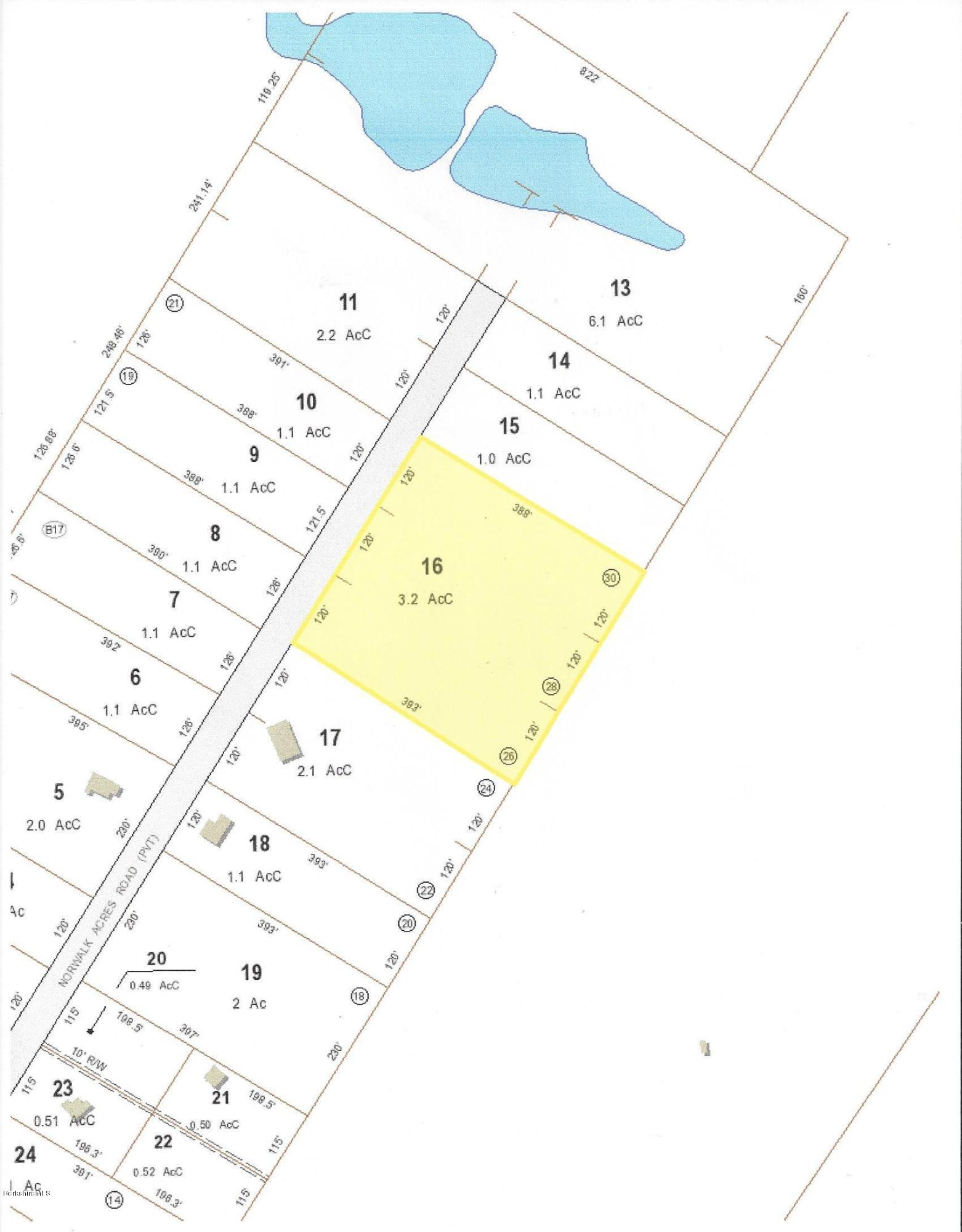 Lot 16 Norwalk Acres Rd Monterey MA 01245