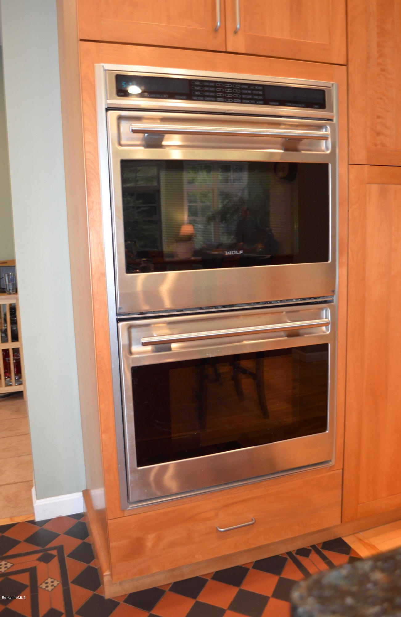 Double wolf wall oven