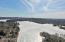Drone shot of Otis Reservoir