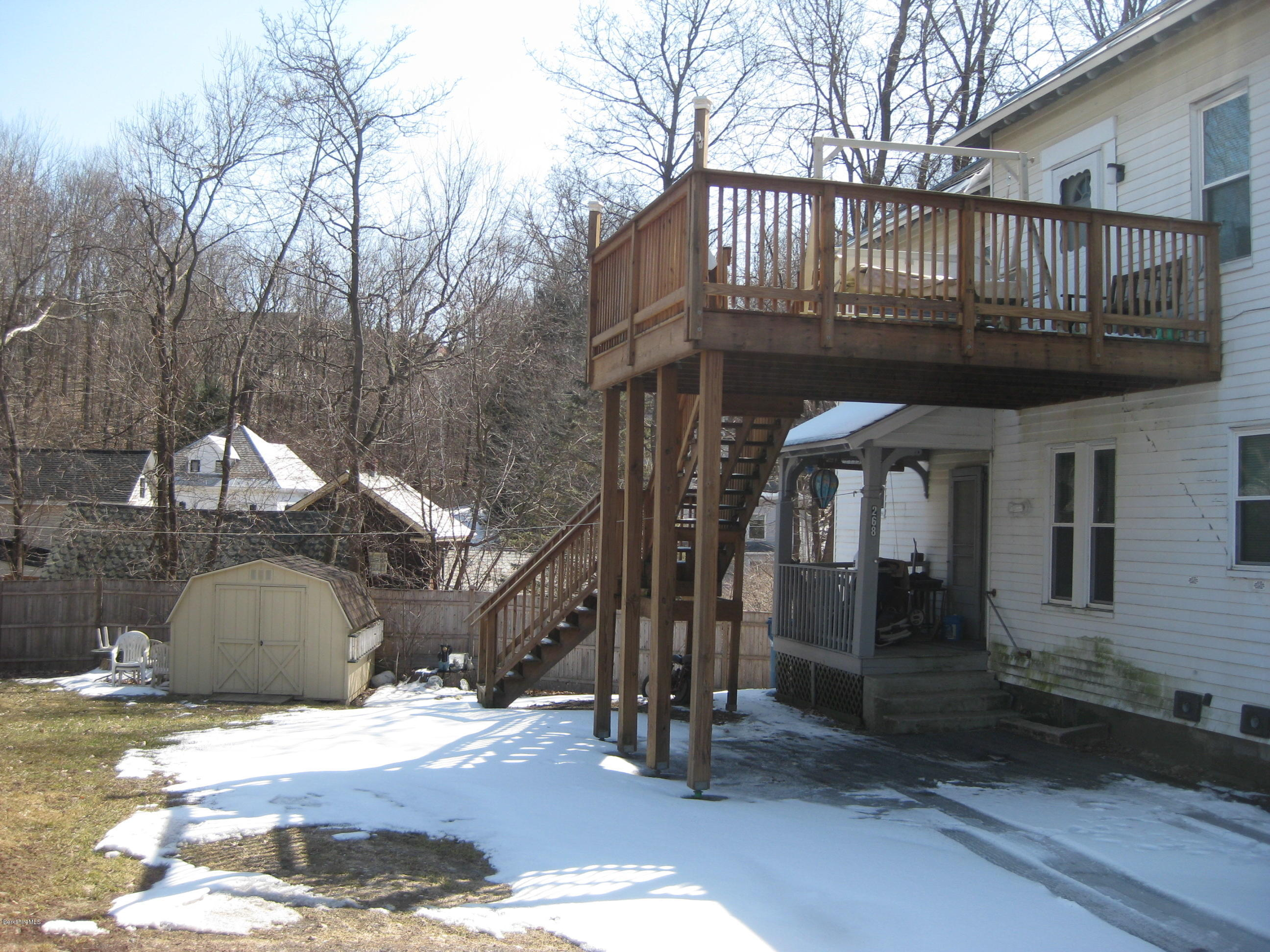 deck and egress