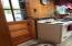 kitchen and front door
