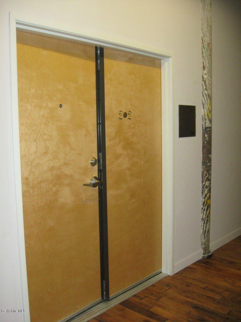 Large double  doors make easy moving.