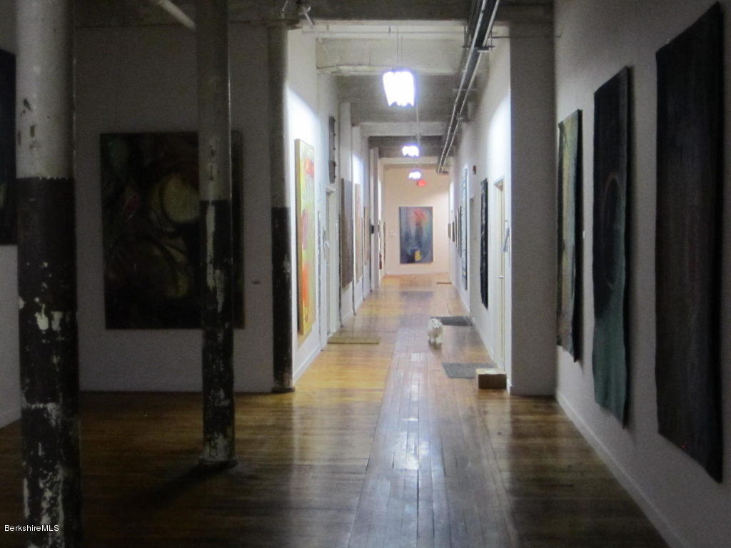 Common hallway to display artwork.