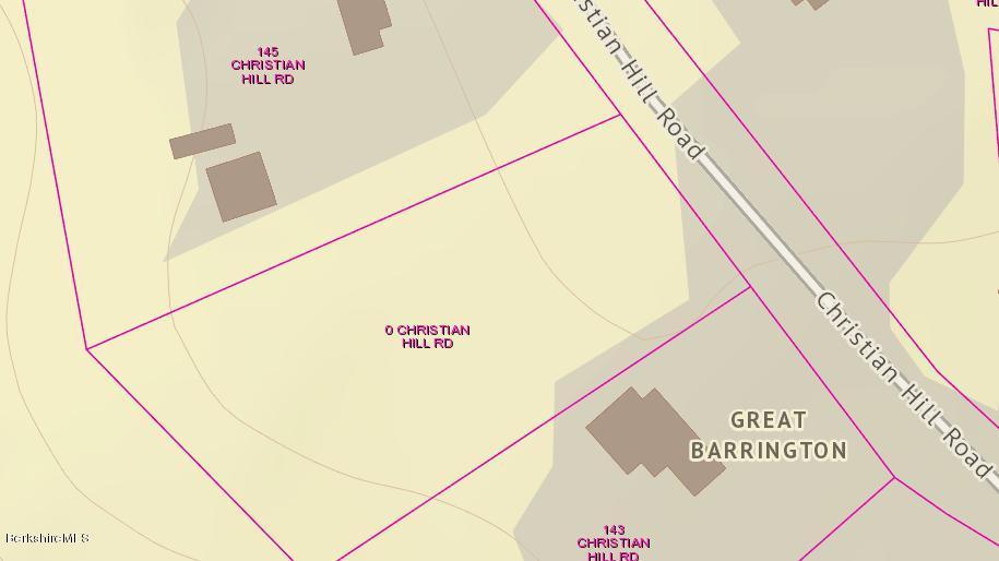 0 Christian Hill, Great Barrington, Massachusetts 01230, ,Land,For Sale,Christian Hill,226574