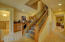 Stairs To Lower Level Wet Bar To Entertain Media Room Or Sauna