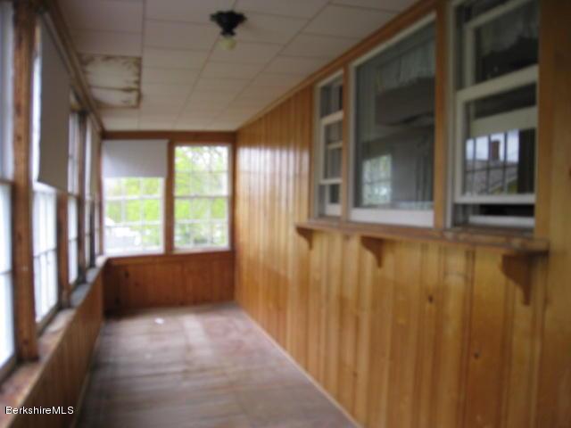 Unit 2 enclosed porch