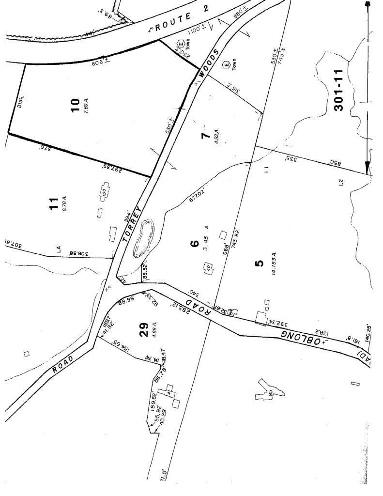 TORREY WOODS Williamstown MA 01267