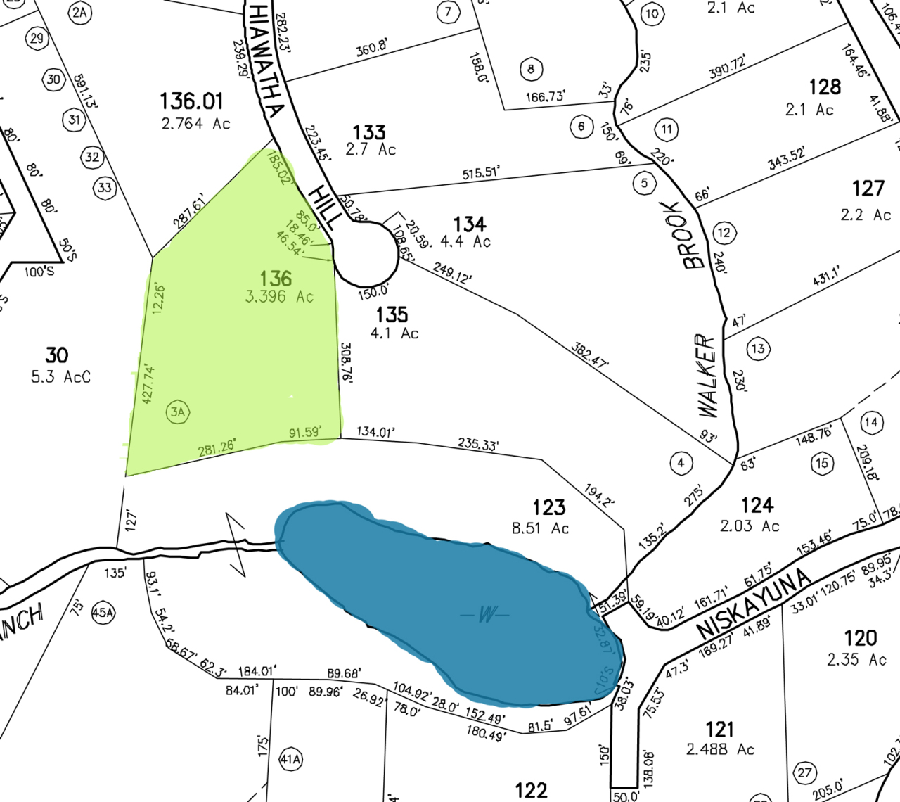 Lot 3A Hiawatha Hill Becket MA 01223