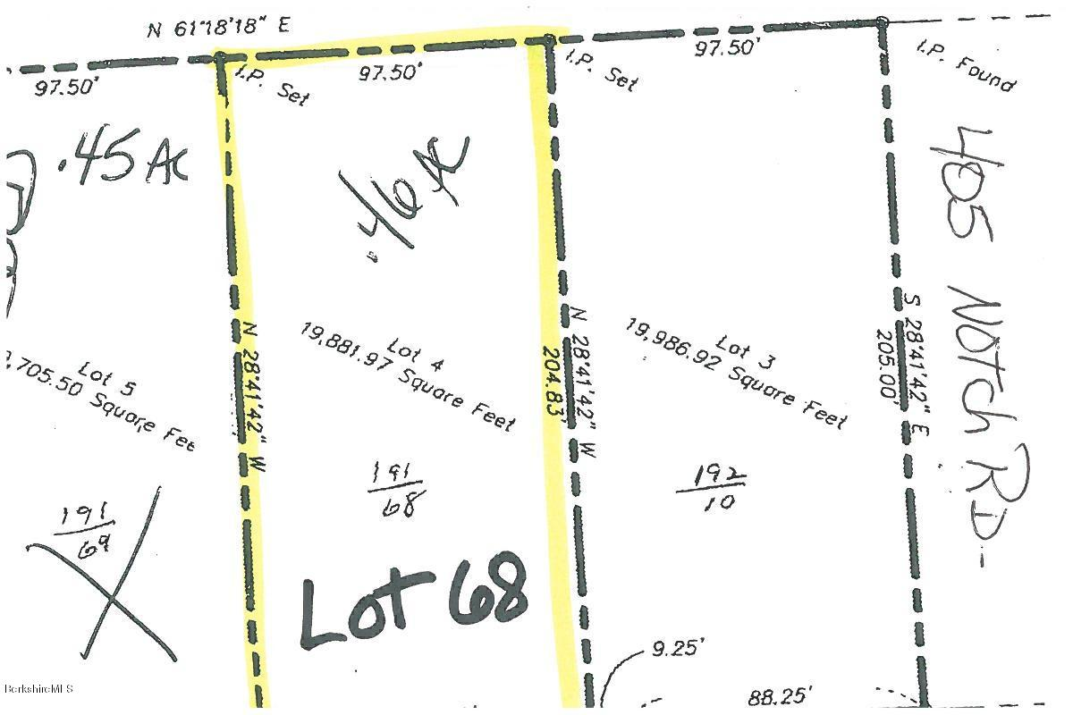 Lot 68 Notch Rd North Adams MA 01247