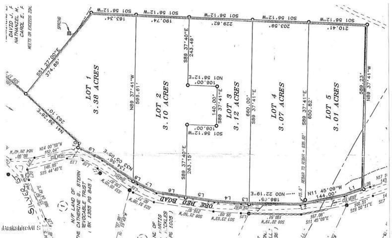 Lot 2 OLD OREBED Lanesborough MA 01237