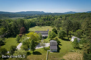 We have it all meadow, woods, Main house, guest house, studio, barn
