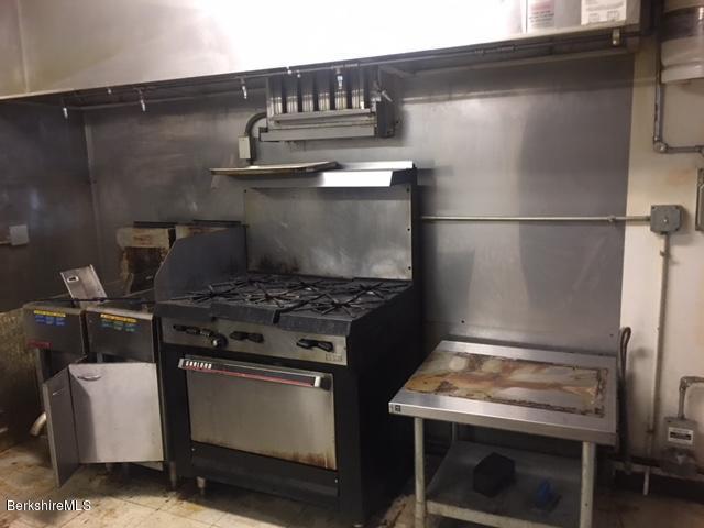 Gas cooking and fryalator