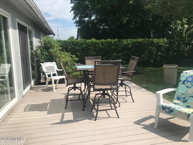 back deck off sunroom