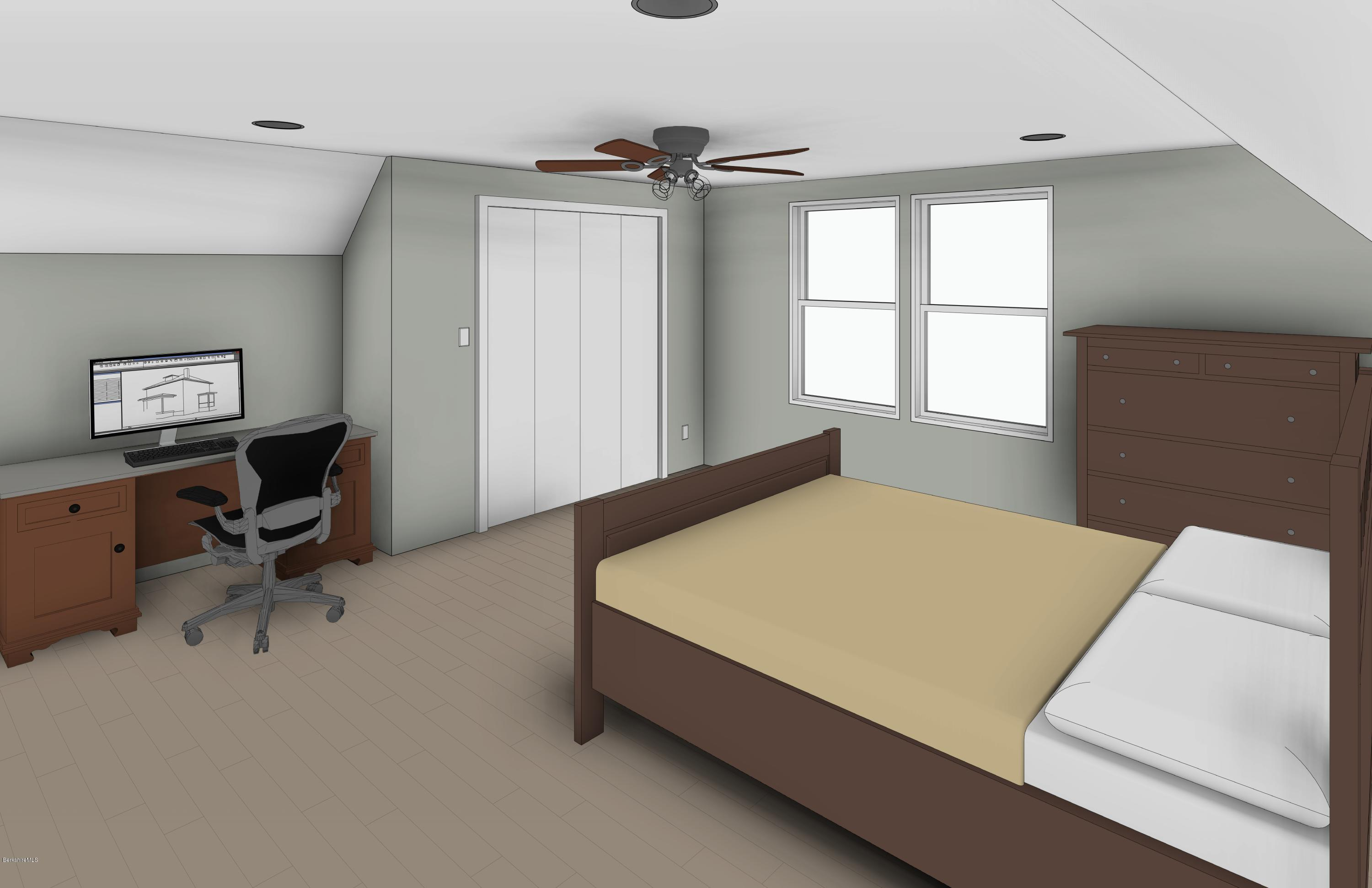 Third Floor Master Bedroom