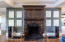 Magnificent carved fireplace surround