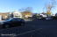 Large private parking lot with 15 parking spots.