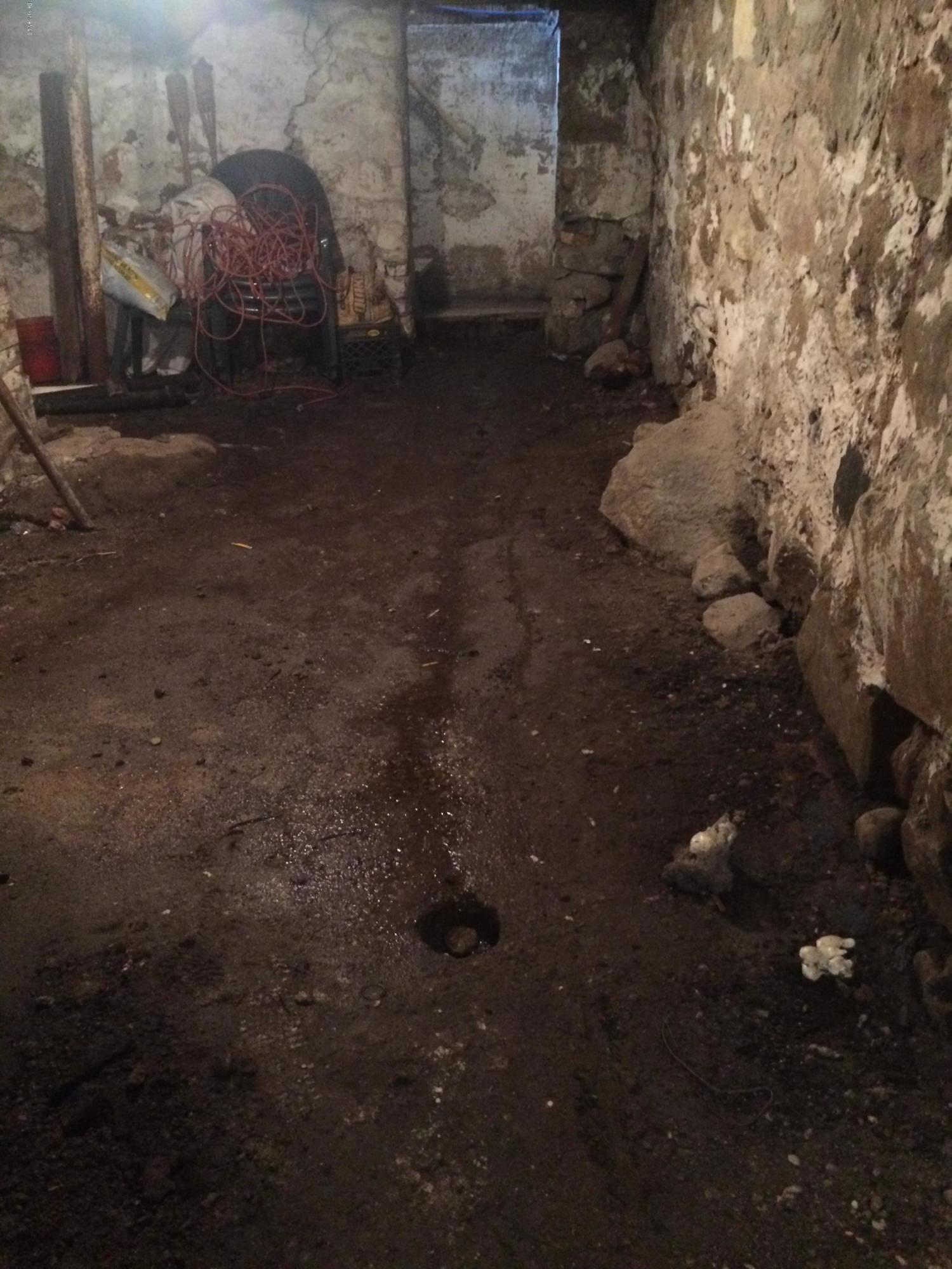 some water in basement