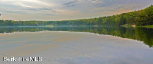 The finest waterfront land available in the Southern Berkshires! On a 100 acre private lake