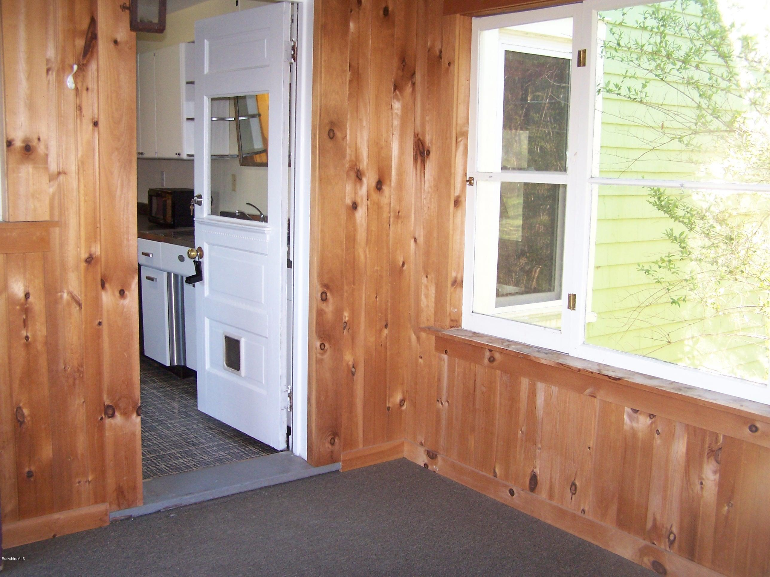porch to kitchen