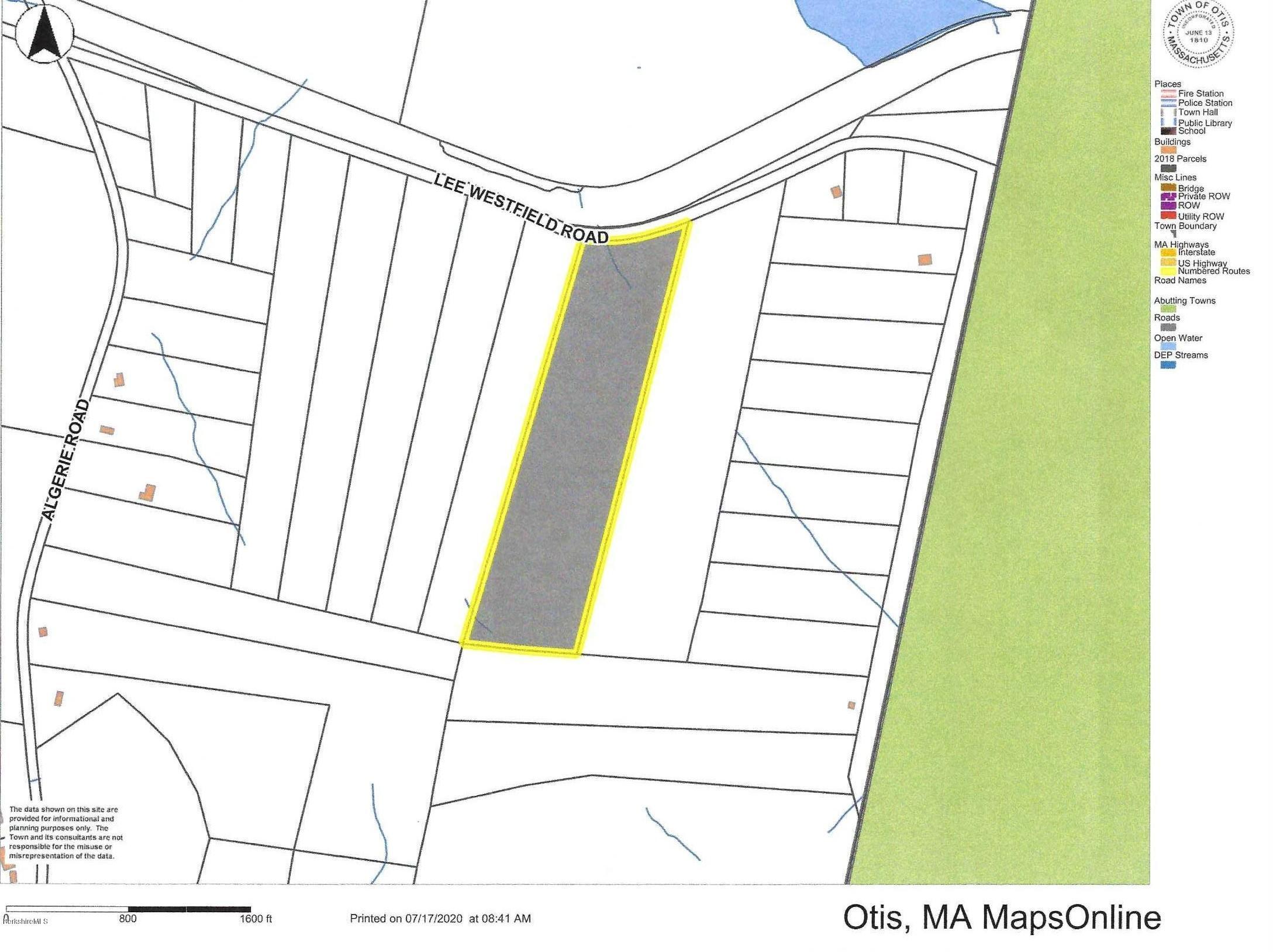 Lot 40 Blandford, Otis, Massachusetts 01253, ,Land,For Sale,Blandford,231829