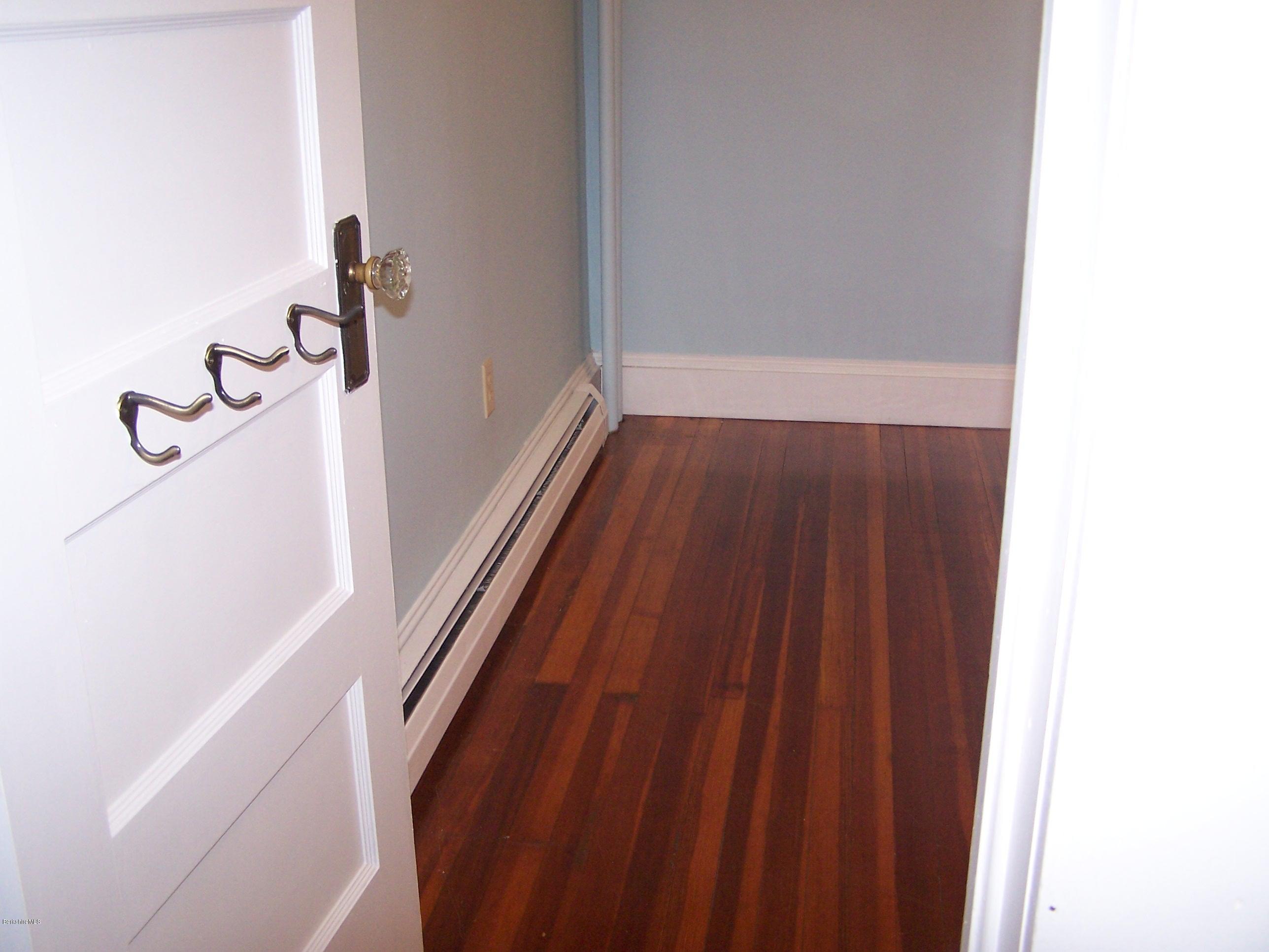 wood floor in bedroom