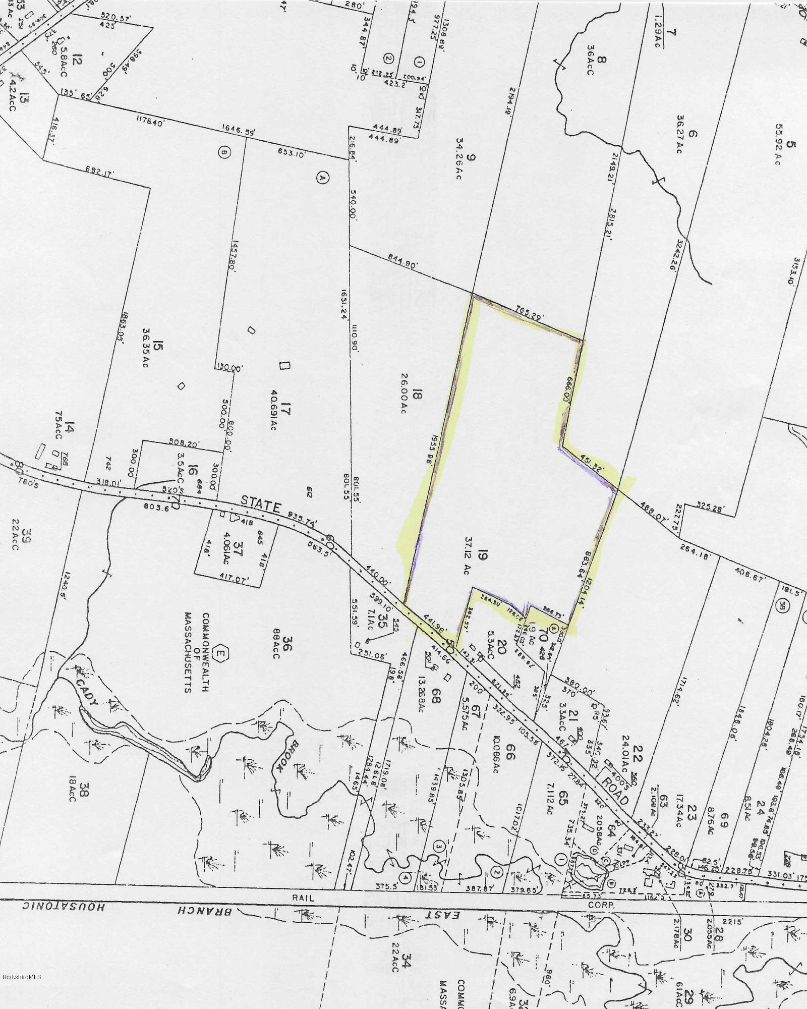 Washington Rd., Route 8, Hinsdale, Massachusetts 01235, ,Land,For Sale,Washington Rd., Route 8,232313