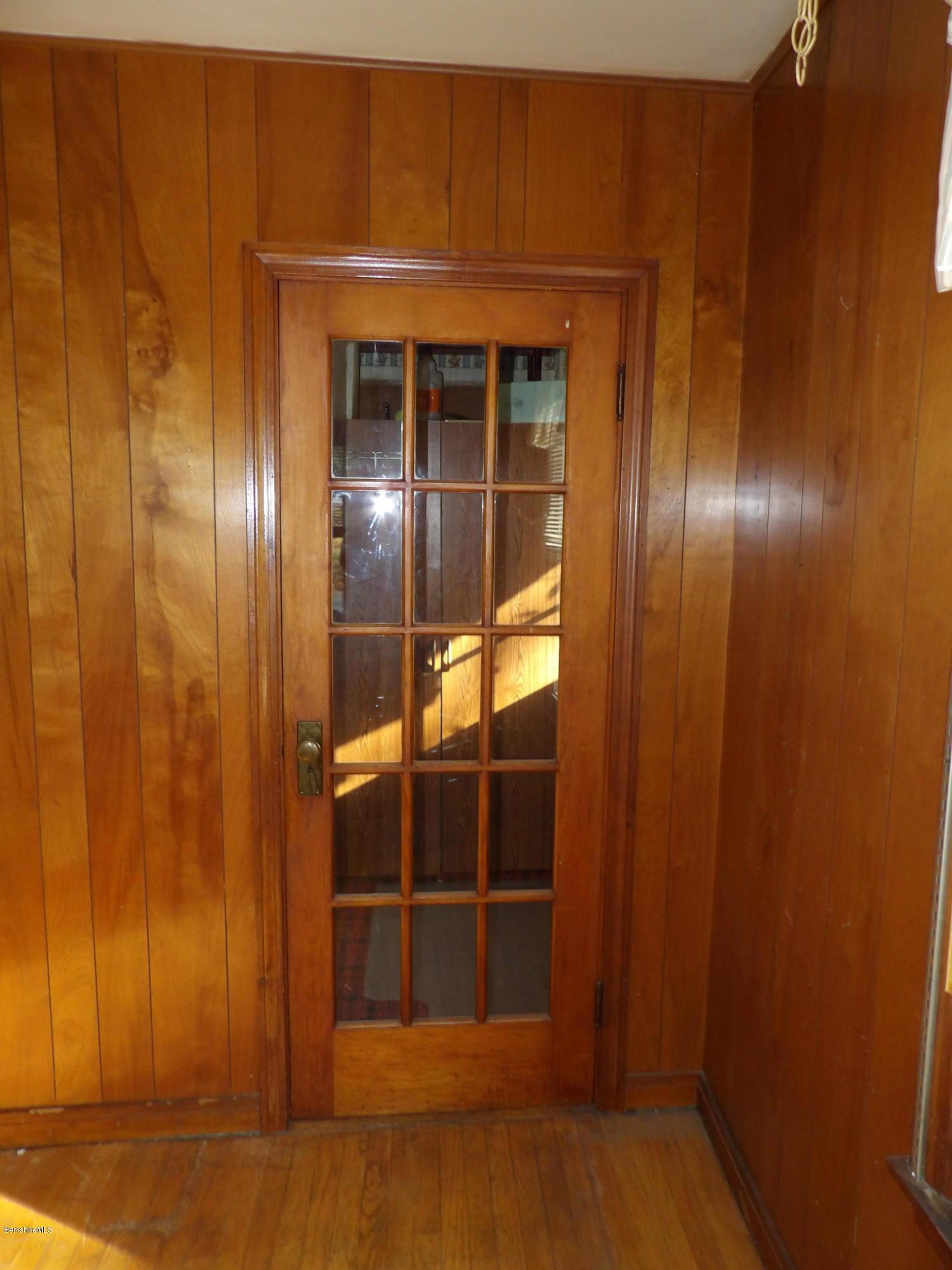 Front Entry Door into Den