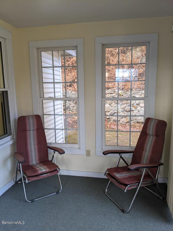 Enclosed porch or mudroom off kitchen