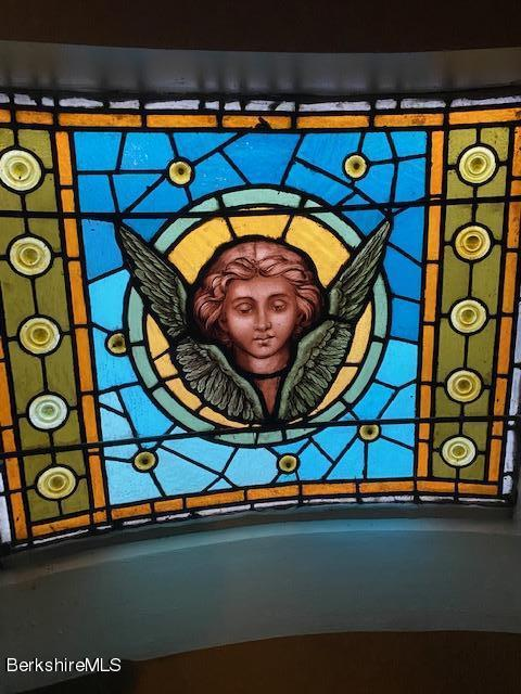 smaller stained glass widows