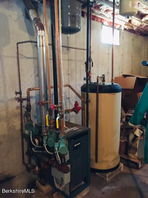 heating and hot water system