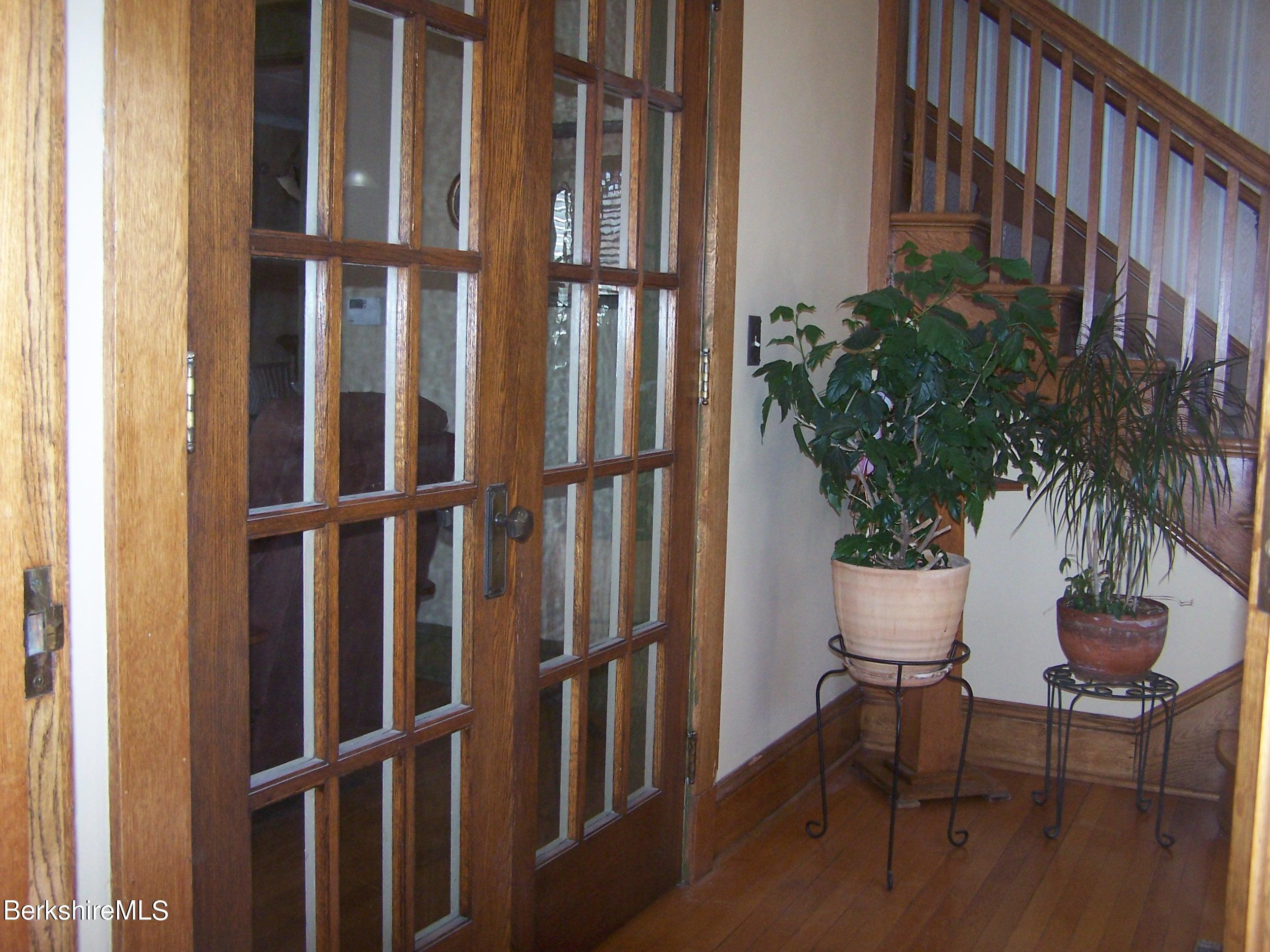 Doors to Living Room from Foyer