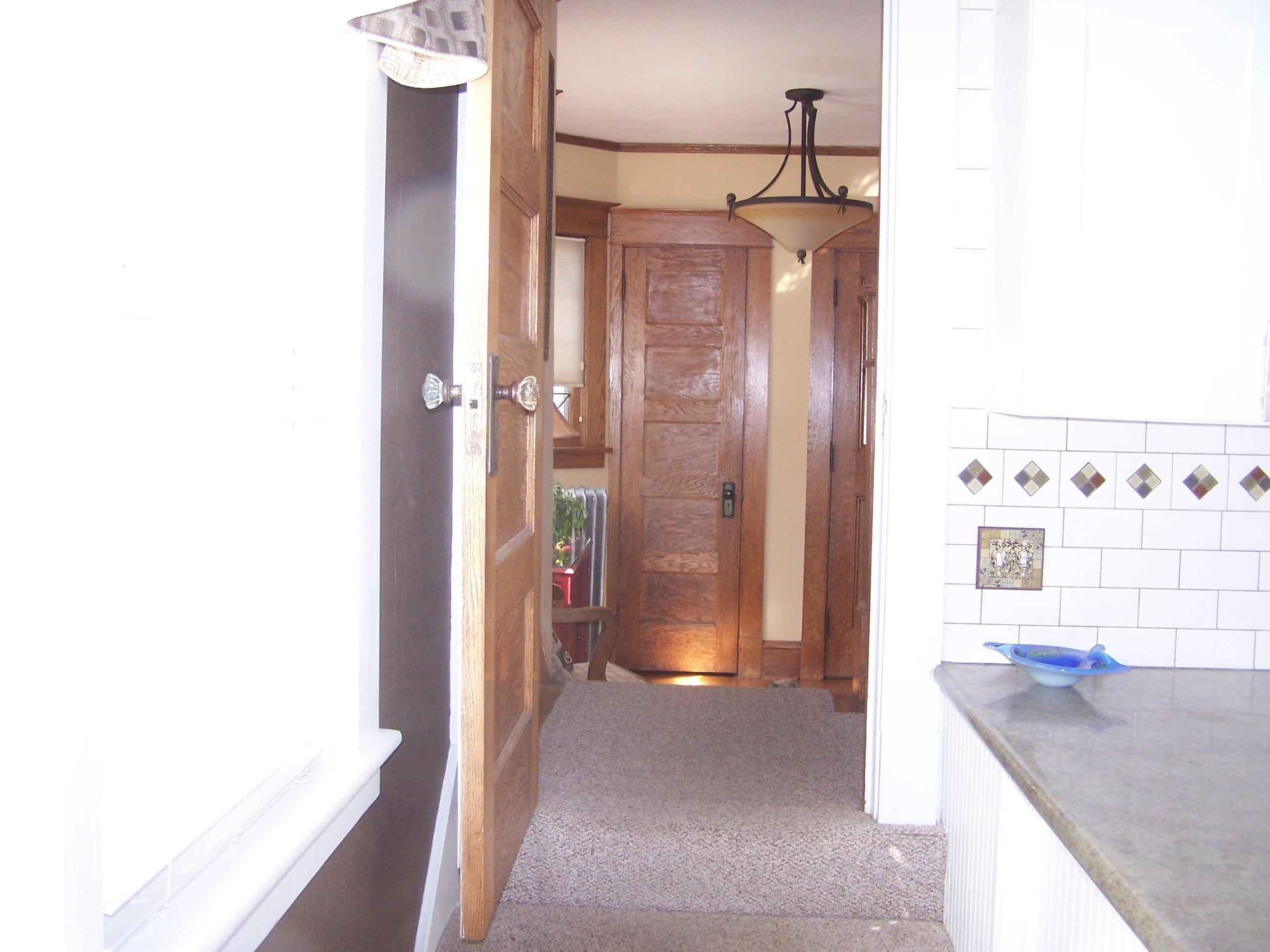 Kitchen to Foyer