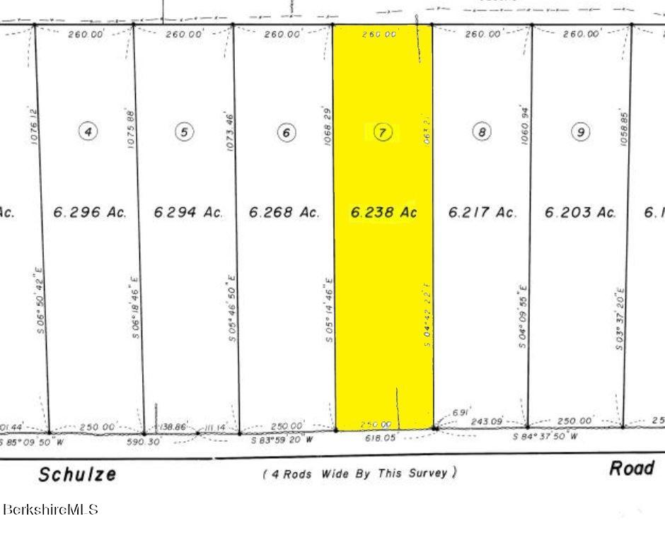 Schulze, Washington, Massachusetts 01223, ,Land,For Sale,Schulze,233102