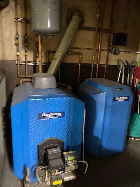 updated buderus boiler