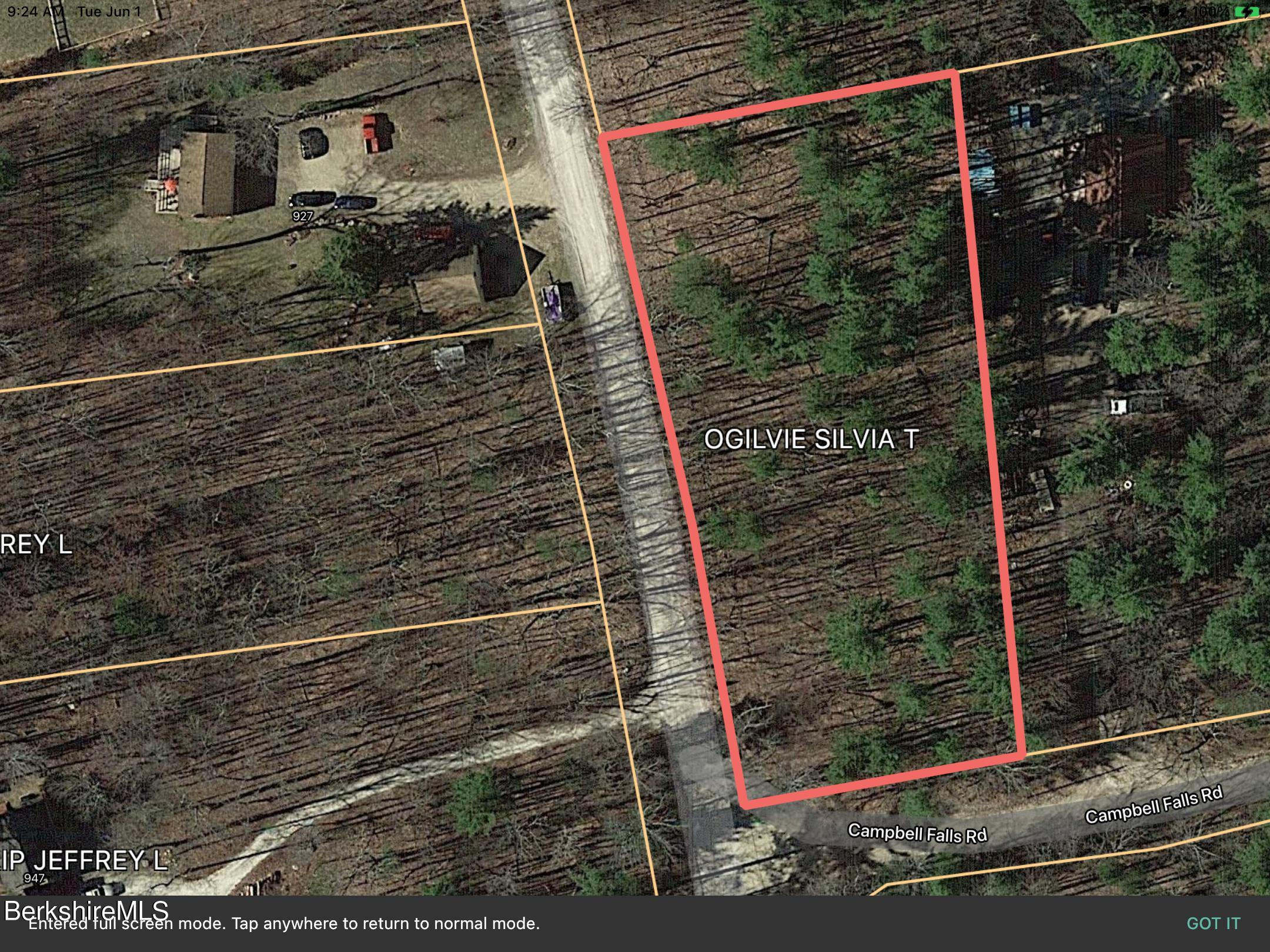 Cross to Canaan, New Marlborough, Massachusetts 01259, ,Land,For Sale,Cross to Canaan,234479